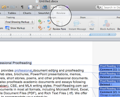 Change author name for existing comments word 2011 mac crashes on startup